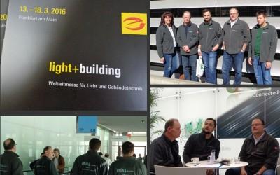 Grün Elektrotechnik zu Gast auf der light+building 2016