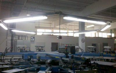 Beleuchtungslösungen für Druckmaschinen